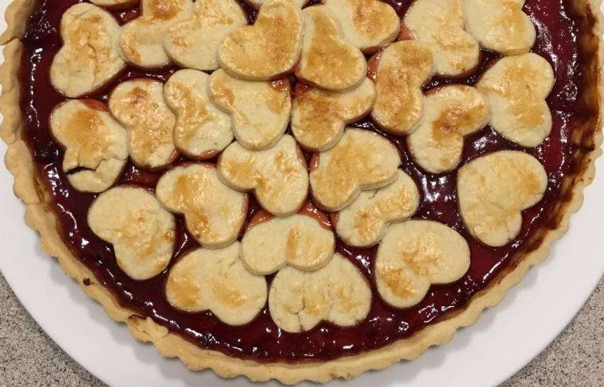 Per un San Valentino non convenzionale: Pie con Marmellata diFragole.
