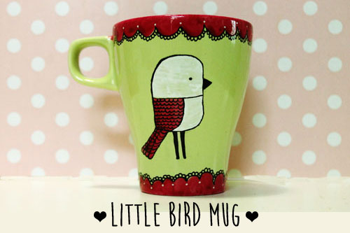 Tazza Little Bird