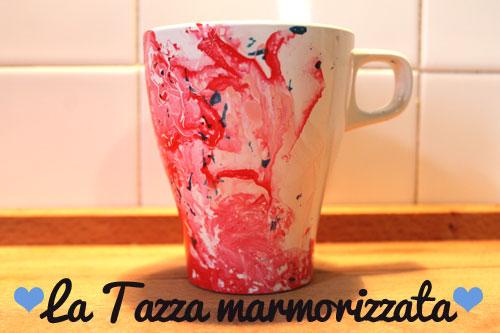 Come decorare una tazza con lo smalto perunghie